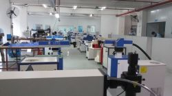 Sanhe Laser production shop