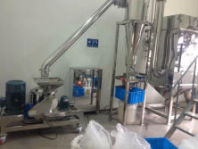 Chinese Herbs Grinder & Pharmaceutical Pulverizer with cyclone dust collection system
