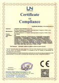CE-LVD Certificate for POE Switch