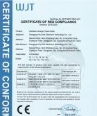CERTIFICATE OF RED COMPLIANCE