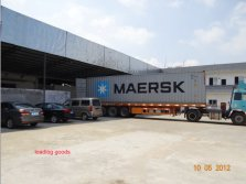 Loading-container-OEM Bearing to-Kenya