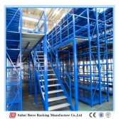 2016 New Hot Selling China Warehouse Storage Top of Steel Mezzanine Stairs