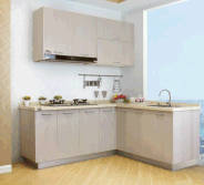YIJIA Small wooden kitchen cabinet for home
