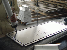 aluminum composite panel cutting and grooving