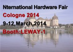 Nternational Hardware Fair Cologne 2014
