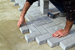 paving bricks