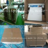 Well packed Cardboard counter displays
