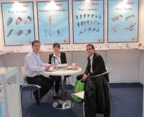 2011 ShangHai Automechanika show-with two argentina friends