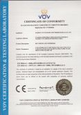 Belt Driven Air Compressor CE Certificate