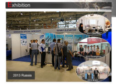 Russia exhibition in 2013
