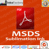 MSDS for Sublimation Inks