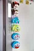 Fridge magnet plush toy
