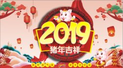 2019 Spring Festival Holiday Announcement