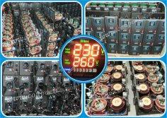 SVC series Servo-type Automatic Voltage Regulator/Stabilizer(with multifunctional LED display)