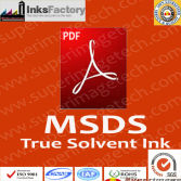 MSDS for Solvent Inks