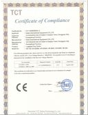 CE certification of Drop Tester
