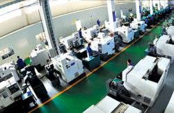 Production line in Jiangsu Dongfang Company