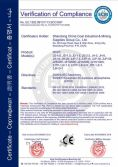 CE Certificate of Winch