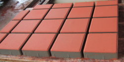 Paver mould with CNC cutting