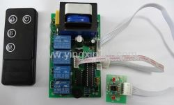 Electric Fireplace Remote Control Master Circuit Board with Handset PCBA (FR-002)