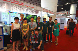 Induction Heating Machine Exhibition in 2014