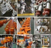 Electric Wire Rope Hoist/Electric Chain Hoist with Clutch/Explosion-Proof Electric Chain Hoist Production Line 2