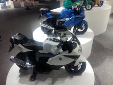 Kid electric toy motorbike