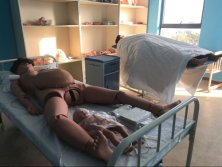 XY-F55 Delivery and Maternal and Neonatal Emergency Simulator.