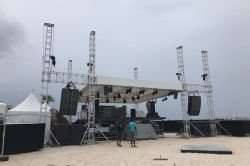 Sanway VT4889 and S8028 Outdoor Project in Barbados 2018