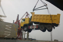 Truck at Port