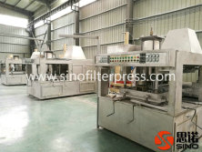 China Membrane Filter Press Plate Plant