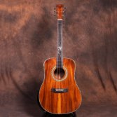 New Product 41 inch All Solid KOA Custom Acoustic Guitar