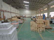 Carpentry department in workshop