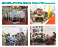 Haobo Attend 2012th Xiamen Stone Fair