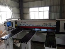 Woodworking computer panel saw machine MJ-260C is now working in customer′s facto