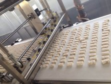 nougat production line detail photo