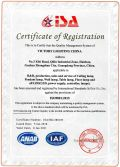 Certificate of Registration ISO9001:2015