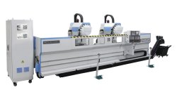 CNC double head milling drilling machining center