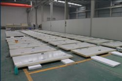 Wallboard production