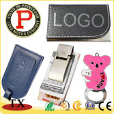 Kinds of bottle openers and money clip and name card holder and luggage tag for promotional products