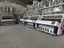 4pcs of 7 Chute Rice Color Sorter in Thailand