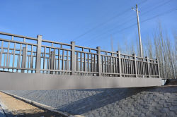 Steel bridge project in Inner Mongolia