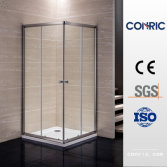 Bathroom Tempered Glass Double Sliding Door Shower Enclosure 7019