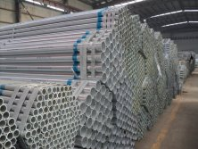 ERW Round Galvanized Steel Pipe