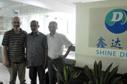 Libya customer visited Shine Dew