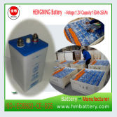 Ni-CD Rechargeable Railway Battery Gn250 for Railway Signaling