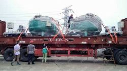 Two sets of sand filters have been shipped to Egypt successfully