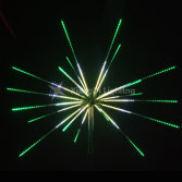 Firework motif light