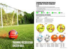 Training/Recreation Soccer Ball in Machine-Stitched Technology