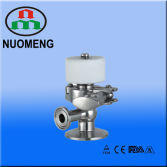 Sanitary Stainless Steel Clamped Aseptic Sample Valve